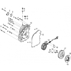 carter allumage / rotor /...